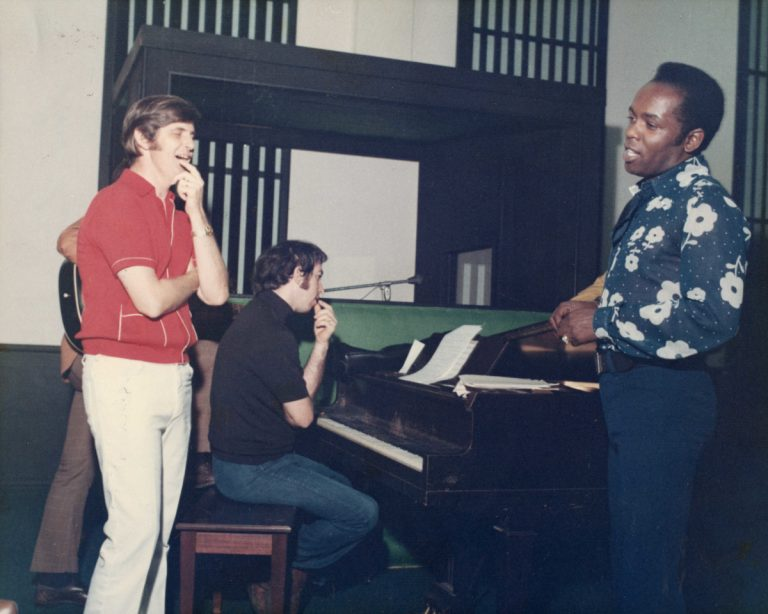 Rick Hall, Clayton Ivey & Lou Rawls